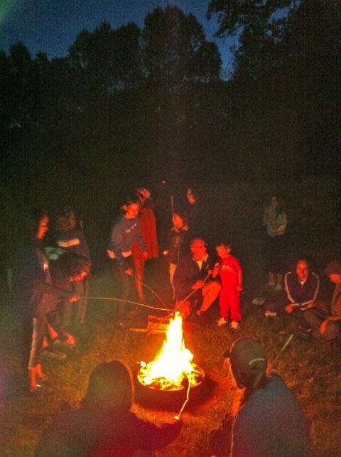 Campfire-moon